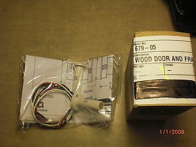 "Wood Door and Frame Concealed Magnetic Switch ""Schlage"" (679-05)"