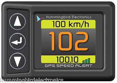 GPS Speedometer with Speed Alert and Odometer
