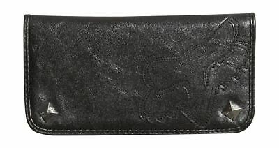 FOX Racing Ultimate Bifold Checkbook Wallet - Black Womens Fox Wallet