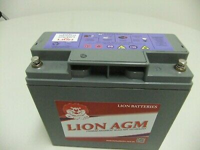 Mobility Scooter Battery Lion Deep Cycle 12V 18Ah - Express courier to your door