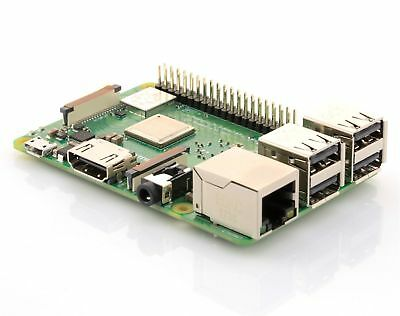 2018 Version - Raspberry Pi 3 Model B+ Plus 1,4 GHz 64Bit Quad Core WLAN 5 GHz
