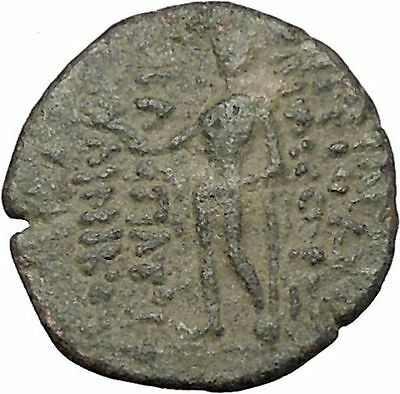 ANTIOCHOS XII Dionysos 87BC Apollo Tripod SELEUKID Ancient Greek Coin  i47341