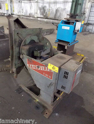 1,500 Lb. Pandjiris Model 15-4 Welding Positioner, S/N 800-2628-2
