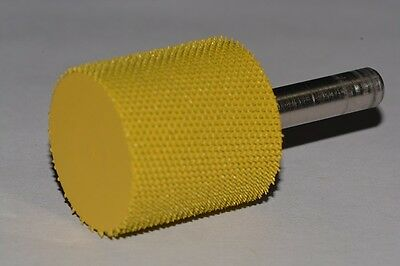 """Saburr Tooth Sculpture Carving Tool 14RS2 Yellow 1//4/"""" Shank Rotosaw 2/"""" Fine Grit"""