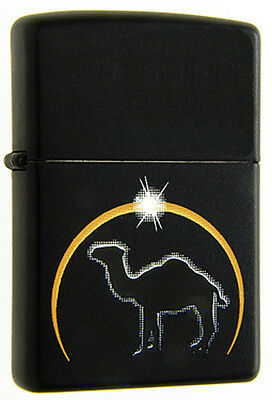1998 Camel Eclipse ZIPPO Lighter Mint Unused CZ-215 MIB White Wick Excellent NOS