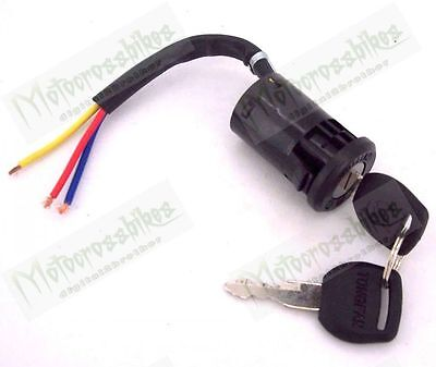 Key Switch for Electric bike & atv scooter 3-Wire