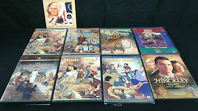 Animated Stories from the Book of Mormon Set Of 8 Plus Bonus
