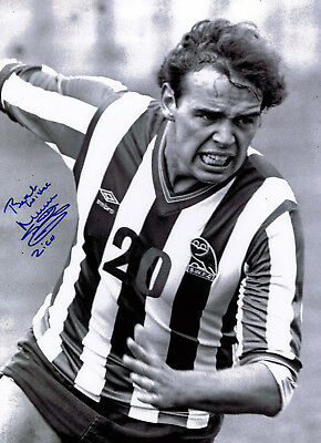 "Mel Sterland ""Zico"" HAND SIGNED Sheffield Wednesday Owls 16x12 Photo AFTAL COA"