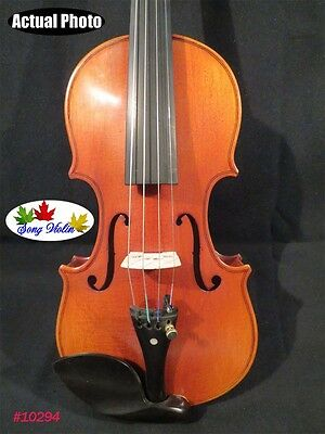 Hand-made solid wood Strad style SONG Brand perfect maestro violin 1/4  #10294