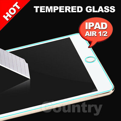 AU LCD Tempered Glass Scratch Resist for Apple iPad Air 1 2 Screen Protector