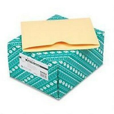 """100 NEW QUALITY PARK 9 1/2"""" X 11 3/4"""" PAPER FILE JACKETS. CAMEO BUFF #89654"""