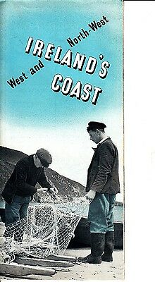 West and North-West Ireland's Coast Galway Mayo Sligo Donegal Vintage Brochure