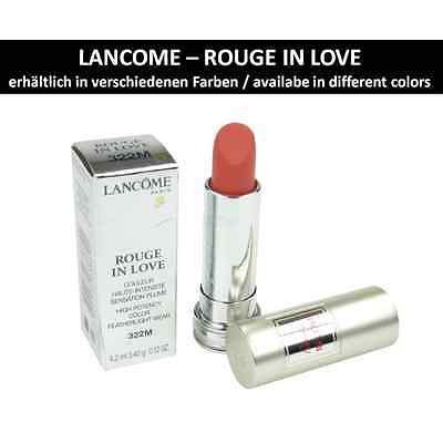 Lancome Rouge in Love Lipstick - Lip Color - Makeup - Cosmetics - 4.2ml