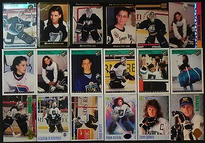 MANON RHEAUME 15 Different Cards *First Lady of Hockey* 10 or More Mail FREE USA