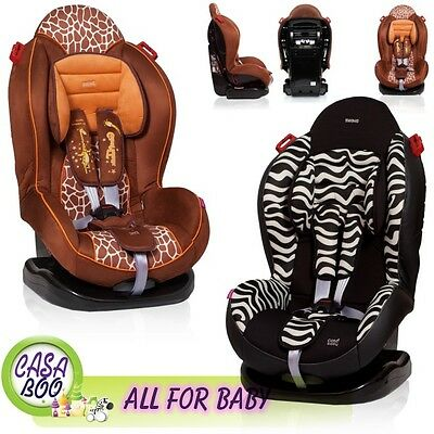 DELUX Baby Child Car Safety  Seat For Group 9-25kg ECE R44/04 GIRAFFE ZEBRA NEW