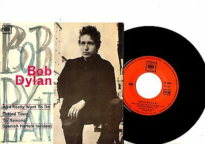 BOB DYLAN EP PS All I Really Want To Do TOP CONDITION France CBS5923 rare French