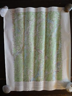 1957 - ANTIQUE Map / Wiscasset Quadrangle, Maine - Topographic