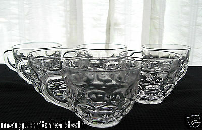 Federal Glass 6 Clear Yorktown 6 oz. Punch Snack Cups