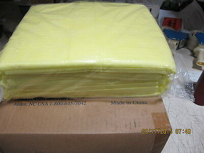 10 Pack Yellow Isolation Gown 77731 MediChoice (69979 Kimberly Clark)
