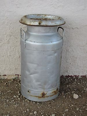 Vtg Cabells Inc 55 Metal Diary Milk Cream Jug Canister w/lid Container HomeDecor