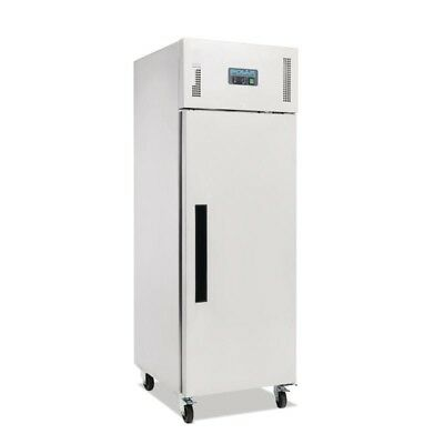 Polar Stainlesss Steel Single Door Upright Commercial Fridge  600Ltr   G592