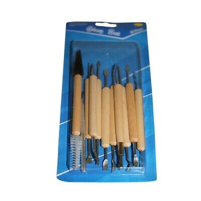 11pce Clay Work Tools Double Ended