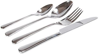 Jamie Oliver - Essential Mirror Polished 18/10 Stainless Steel 24pc Cutlery Set