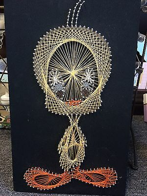 Tweety Bird Vintage String Art Piece