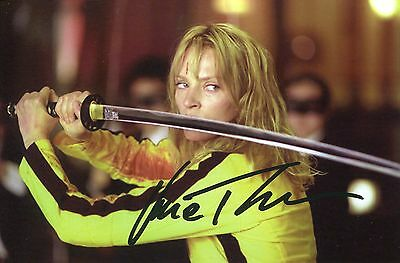 photo de Uma Thurman signature autographe E3!!!!!!!!!!!!!!!!!!!!!!!!!!!!!!!!!!!!