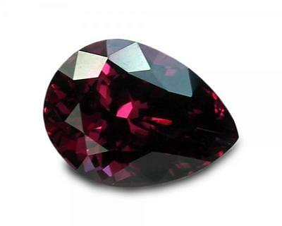 2.66 Carats Natural Raspberry Rhodolite Garnet Loose Gemstone- Pear