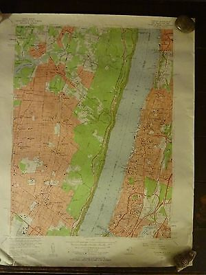 1956 - Map of YONKERS Quadrangle - NEW JERSEY - NEW YORK - Topographic