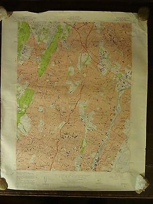 1955 - Map of ORANGE Quadrangle - NEW JERSEY - Topographic