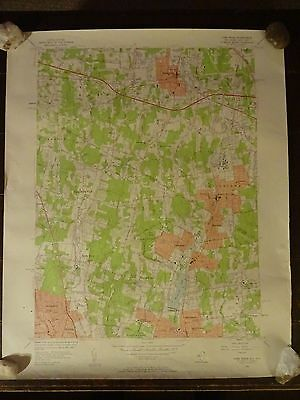 1955 - Map of PARK RIDGE Quadrangle - NEW JERSEY - NEW YORK - Topographic