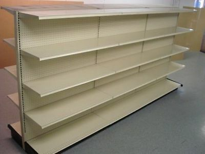 Gondola Metal Store Shelving Complete Sections