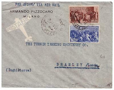 shop1323 Italy cover to England