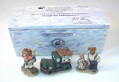 Ted. E. Bear Shop - Boyds Bearly-Built Villages Accessory Set MIB 19501-1
