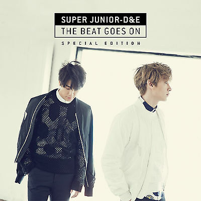 Super Junior D&E(Donghae&Eunhyuk) - The Beat Goes On [Special Edition] CD+Poster