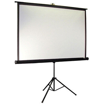 Elite Screens T99UWS1 70 x 70 Tripod Series Portable Projection Screen