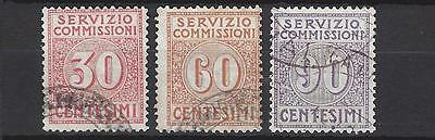 Italy Settlement nr 6-8 used