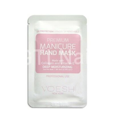 Voesh Premium Manicure Hand Mask Made with Collagen And Vitamin E 0.54oz 1612010