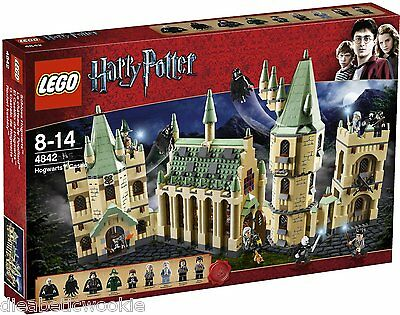 LEGO Harry Potter Hogwarts Castle 4842 McGonagall Filch factory sealed NEW!!!