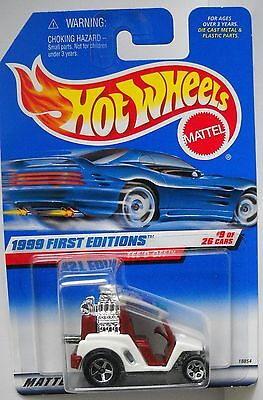 HOT WHEELS 1999 FIRST EDITIONS COLLECTOR# 683 TEE'D OFF #9 OF 26 CARS LOT 3
