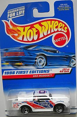 HOT WHEELS 1998 FIRST EDITIONS COLLECTOR# 662 BAD MUDDER #33 OF 40 LOT 3