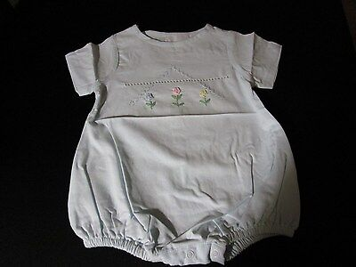 734c1e7a3b8 Nwt Lil Cactus Embroidered Girls Bubble With Bullions   Eyelet Inset  Heirloom