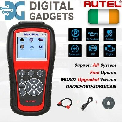 Genuine Autel MD802 For ALL System +DS Model For Engine,ABS, Airbags,A/T, Aircon