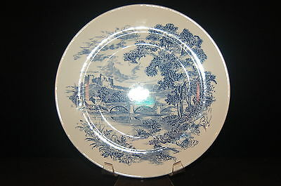 4 - Enoch Wedgwood Countryside Blue Dinner Plate - Set of 4
