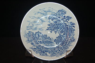 4 - Enoch Wedgwood Countryside Blue Bread and Butter Plate #1 - Set of 4