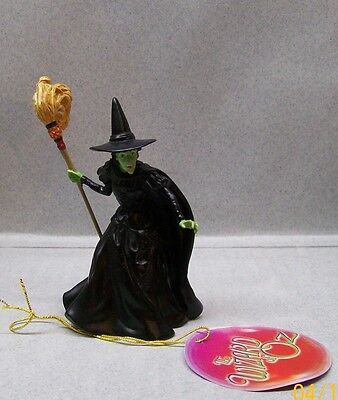 "WIZARD OF OZ WICKED WITCH FIGURINE 3 3/4"" TALL WG E"