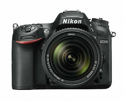 Nikon D7200 Digital SLR Camera with 18-140mm VR Lens 1555