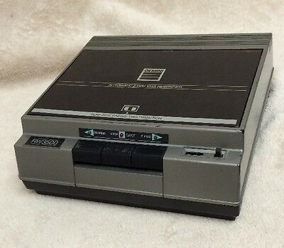 VHS Tape Rewinder Gemini Automatic Two Way With Counter RW3500 Tested See Video